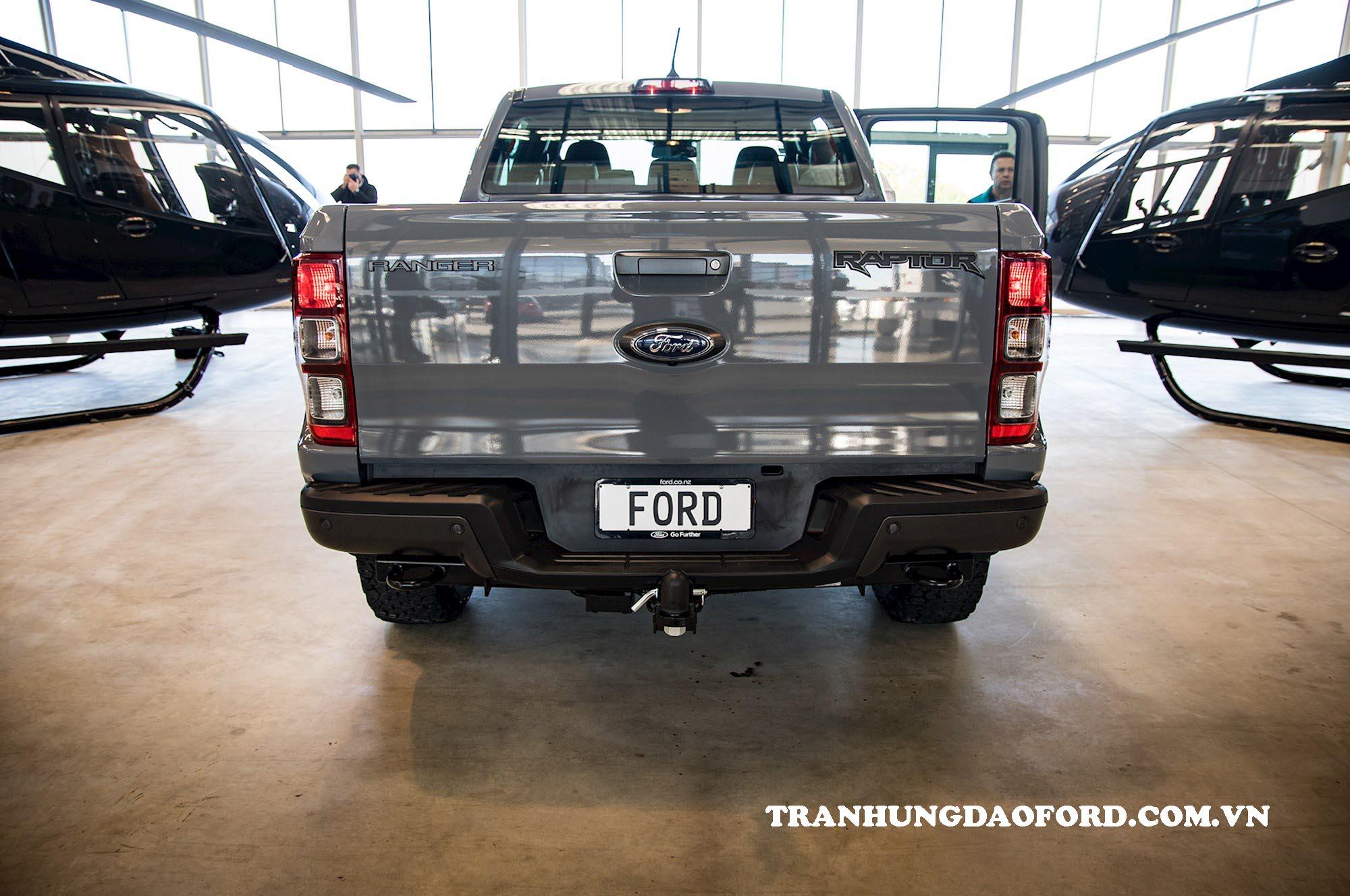 Thiết kế đuôi xe Ford Ranger 2020
