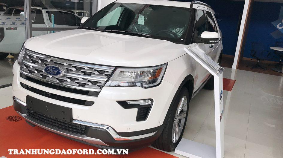 Ford Explorer 2020 màu trắng