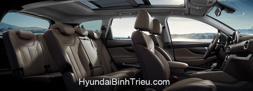 Danh Gia Xe Hyundai Santafe 2020 Ghe Da