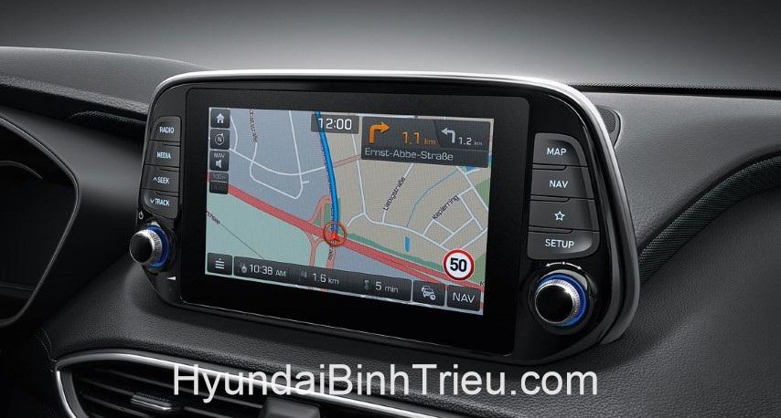 Danh Gia Xe Hyundai Santafe 2020 Man Hinh