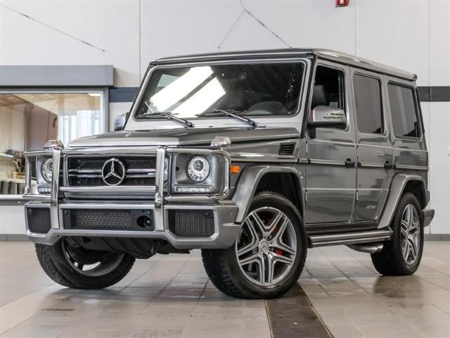 Mercedes G63 AMG dau xe