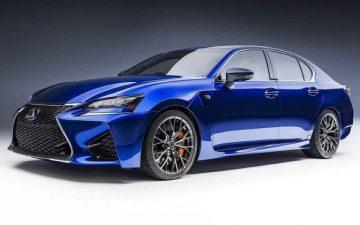Ngoai that Lexus GS350 2020