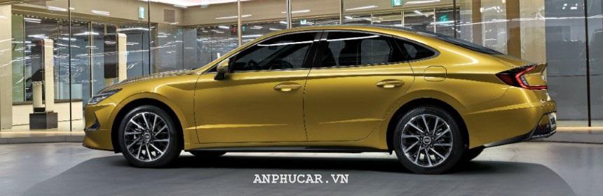 Hyundai Sonata 2020 thiet ke