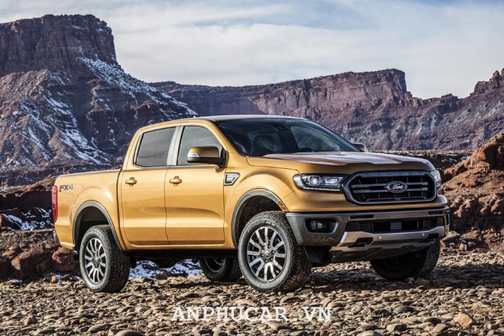 Ford Ranger XLT limited 2020 van hanh the nao