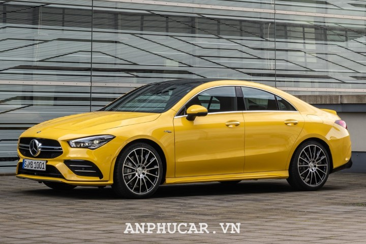 Mercedes AMG CLA 35 4Matic 2020 dam chat the thao