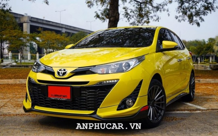 Toyota YARIS 1.5G CVT 2020 danh gia chi tiet