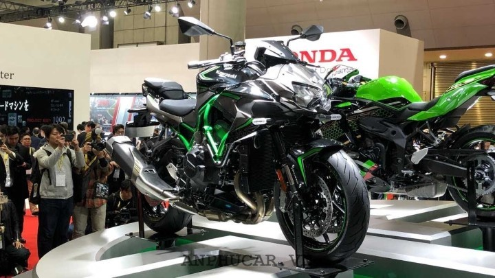 Kawasaki Z H2 2020 ra mat thi truong