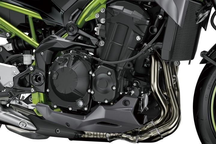 Trang bi tren Kawasaki Z H2 2020 hien dai