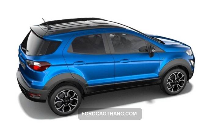 Ford EcoSport 2022 xanh