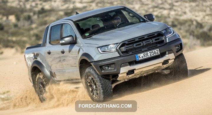 Ford Ranger Raptor ra mat