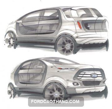 ban thiet ke xe Ford EcoSport 2022